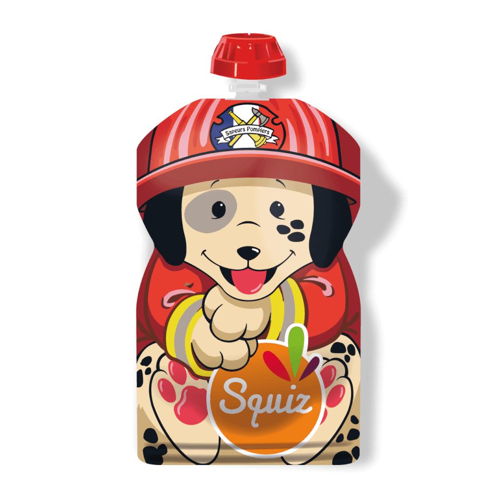 Squiz eteltasak tűzoltó kutya 130ml