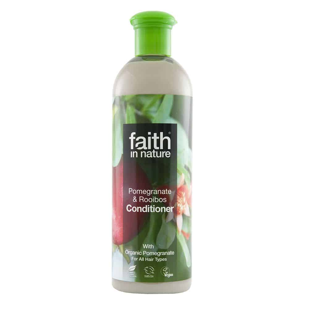 Faith In Nature gránátalma és rooibos hajkondicionáló 250ml