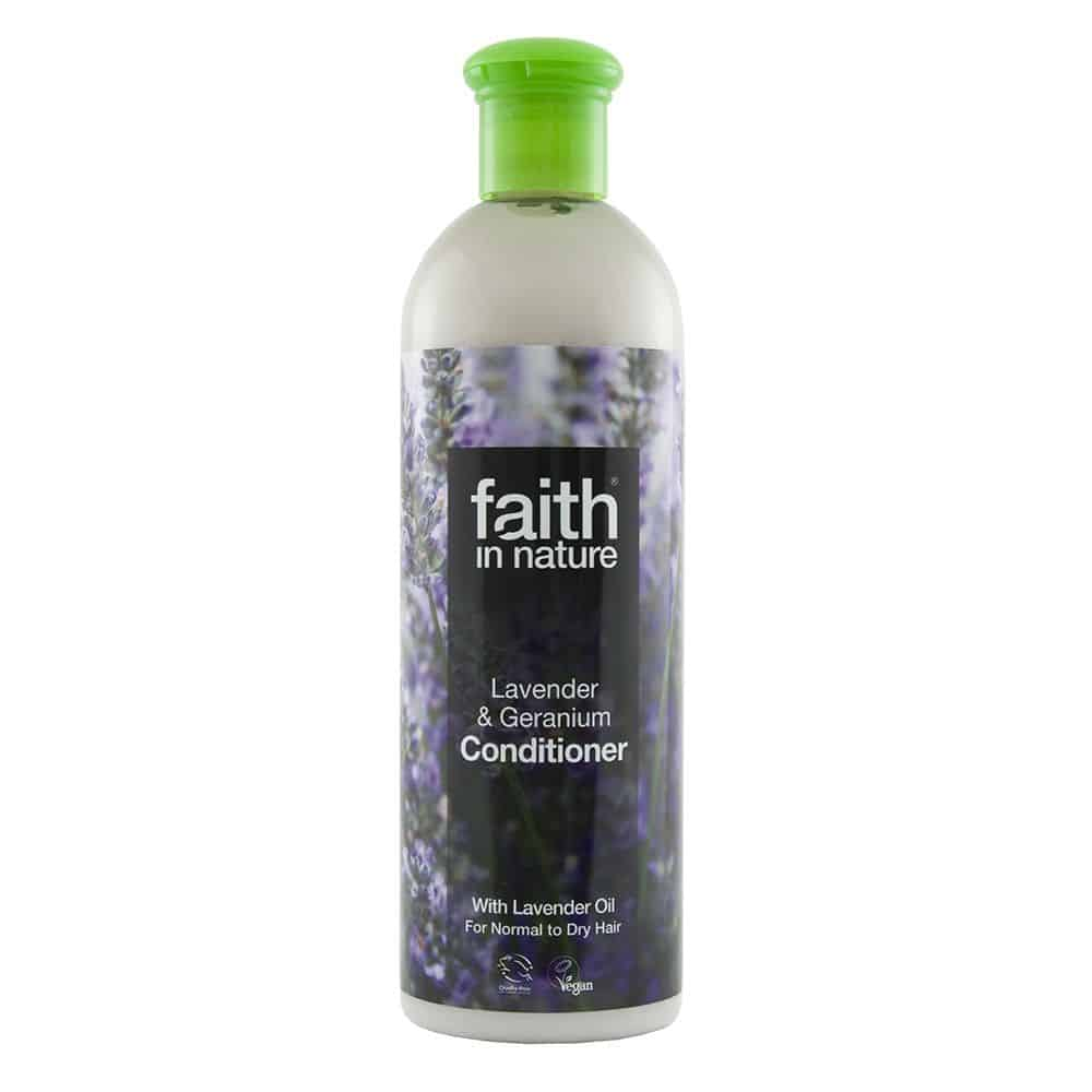 Faith In Nature levendula és geránium hajkondicionáló 250ml
