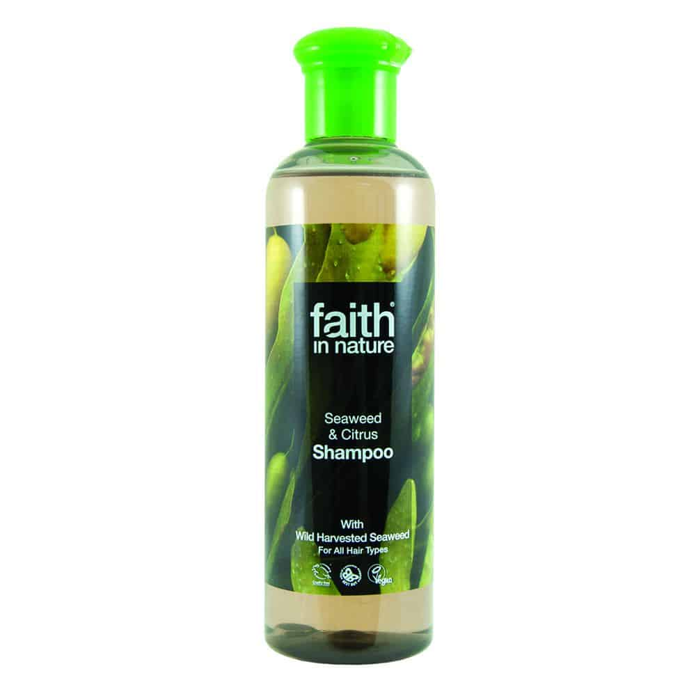 Faith in nature tengeri hínár és citrus sampon 250ml