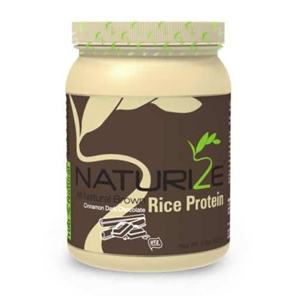 Naturize barna rizs fehérje fahéjas fekete csokis 907g