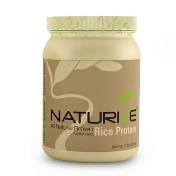Naturize barna rizs fehérje natúr 907g