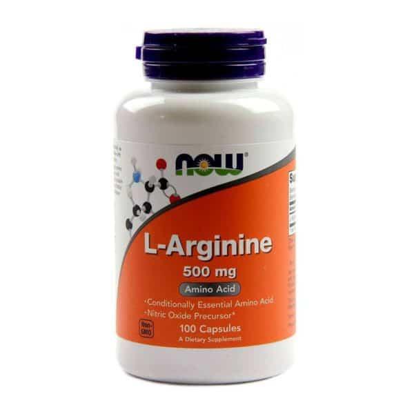 now l-arginin 500mg kapszula 100db