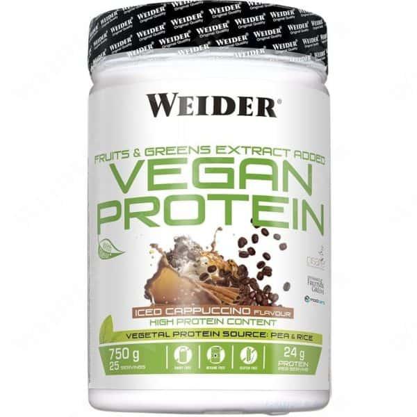 Weider vegan protein 750g cappucchino