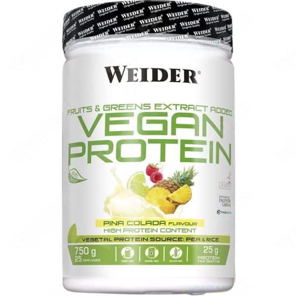 Weider vegan protein 750g pina colada