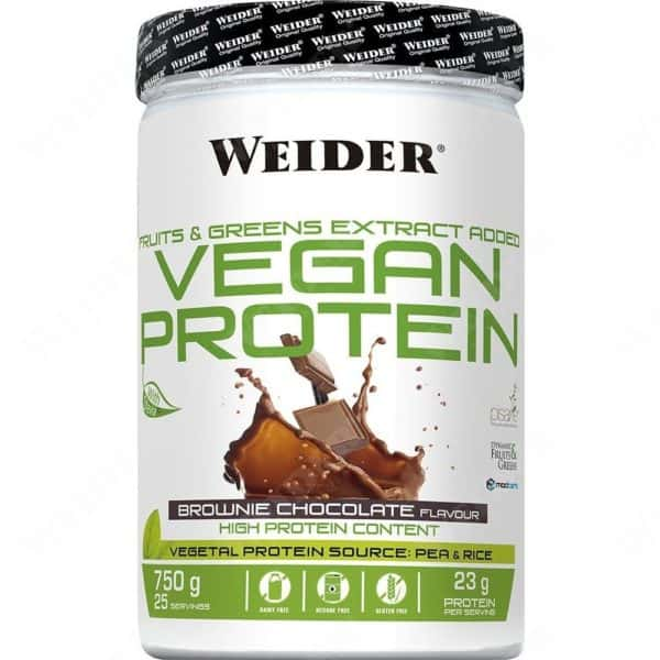 Weider vegan protein 750g csokoládé