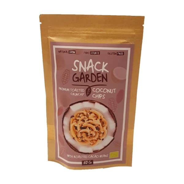Snack Garden kókusz chips kókuszvirág cukorral 80g