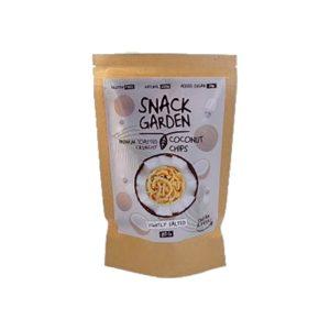Snack Garden kókusz chips tengeri sóval 80g