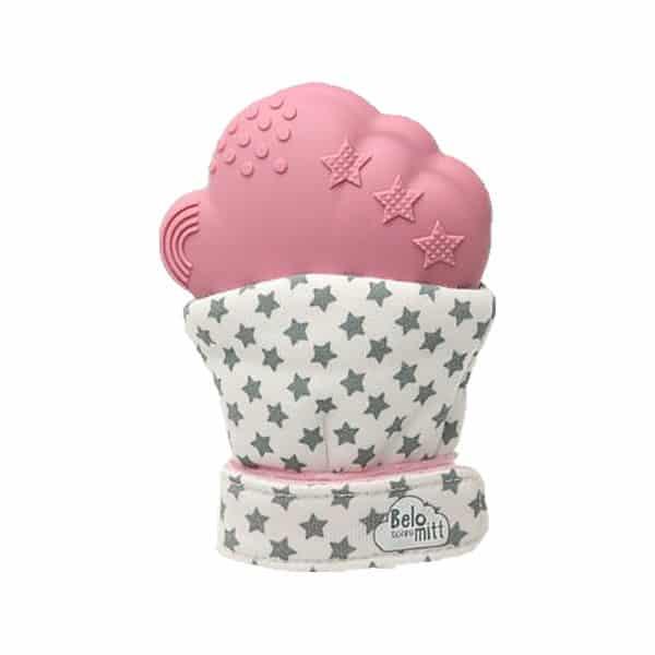 Belo&Me rágókás kesztyű pink