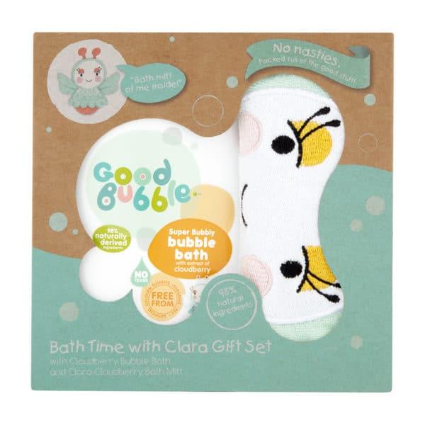 Good Bubble Clara fürdető szett gyerekeknek törpemálna kivonattal
