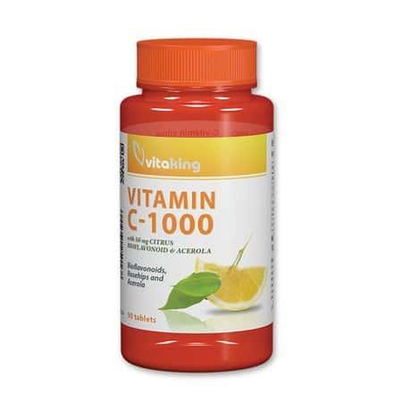 Vitaking C-vitamin bioflavonoid 1000mg 90db