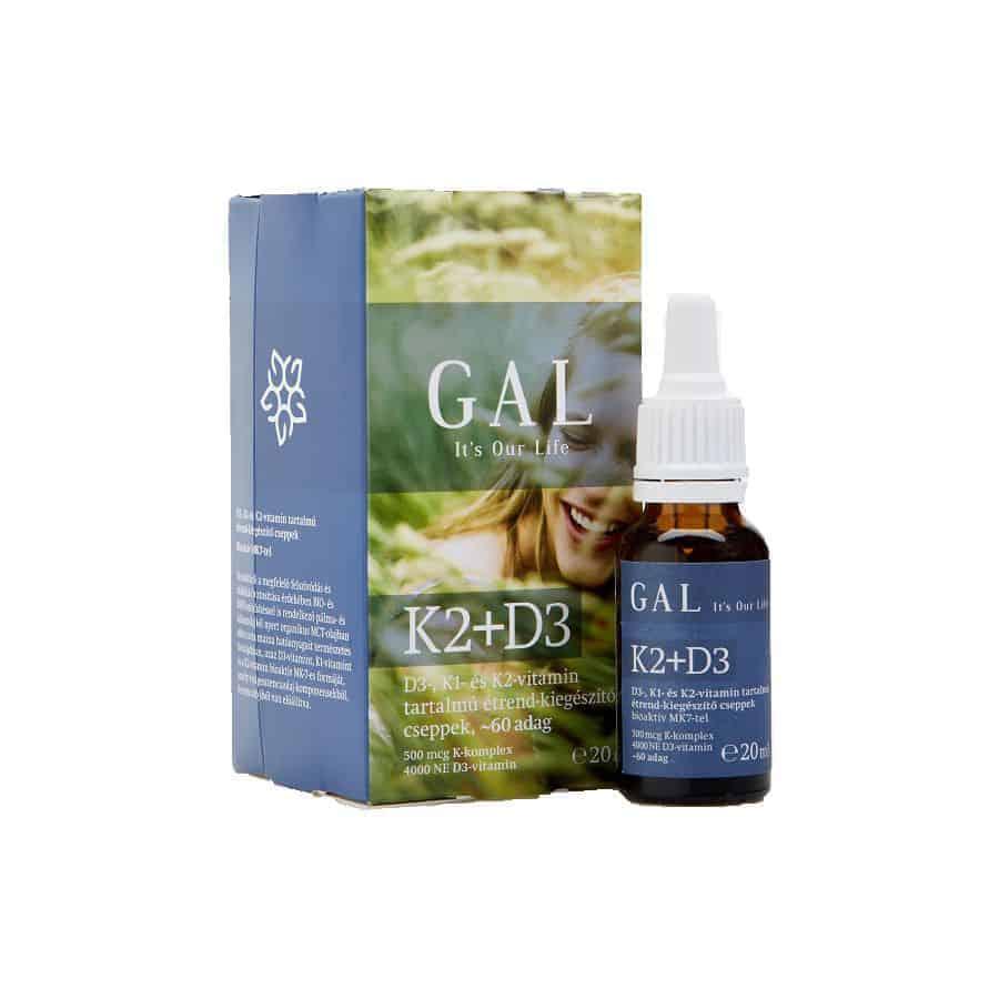 Gal K2-D3 vitamin csepp 20ml